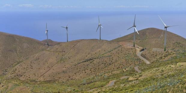 Las renovables marcan un récord en Canarias al cubrir el 33 % de la demanda